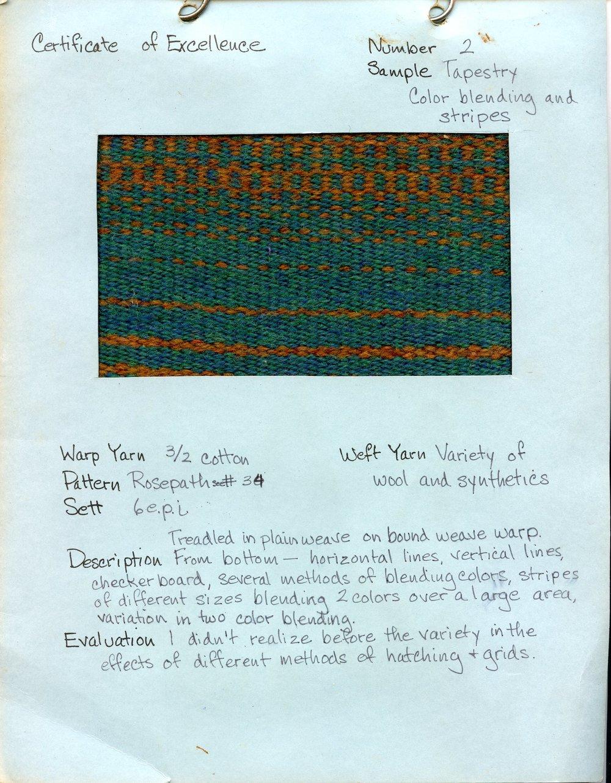 Tapestry – Color Blending