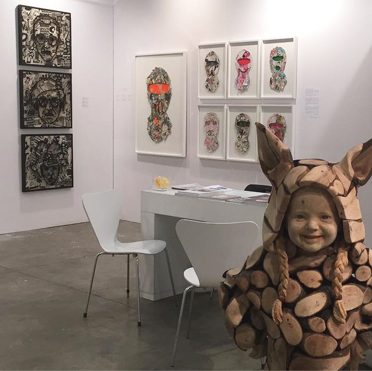 swab art fair Barcelona Spain with 3punts galeria