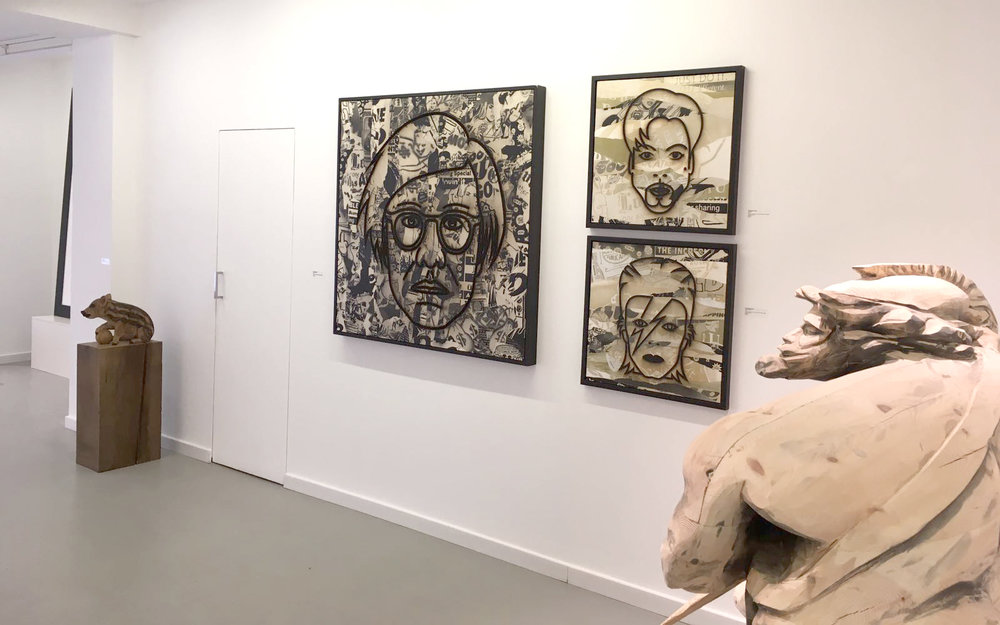group exhibition at 3punts galeria barcelona