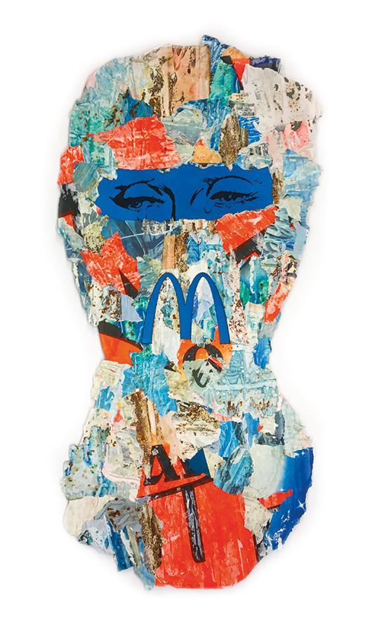 Mc Cry urban camouflage ski mask