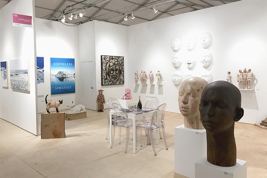 context art miami art fair with 3punts galeria