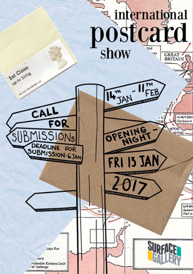 international postcard shoe by surface gallery uk nothingham