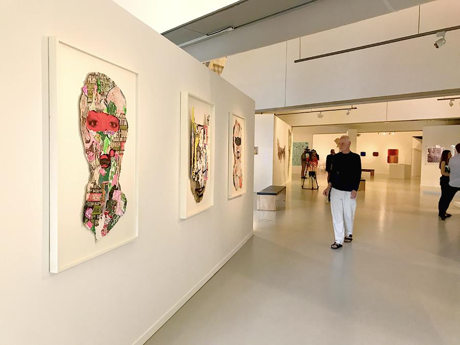 skimasks at the coda paper art biennial 2017