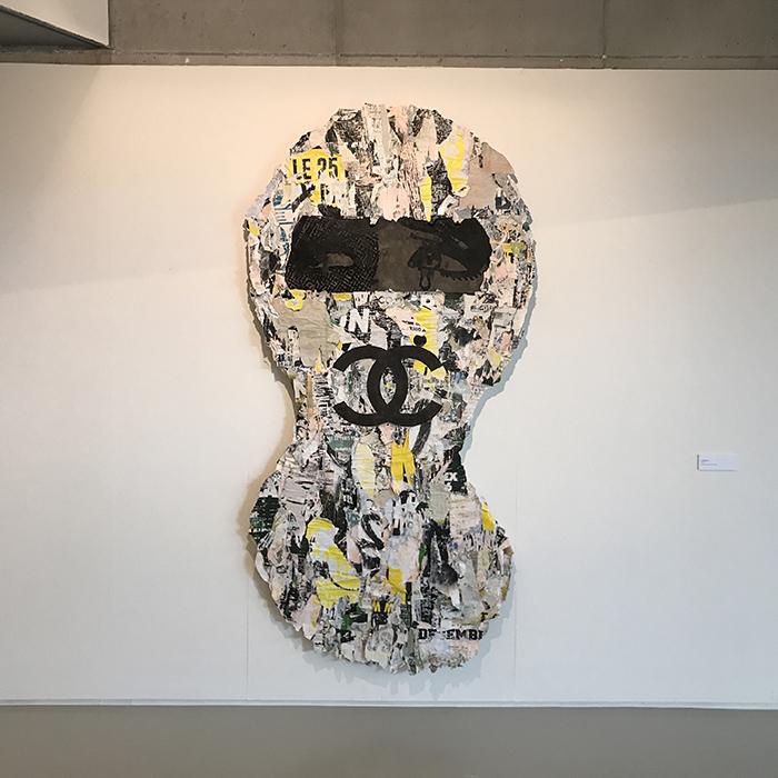 urban camo skimask at coda paper art 2017