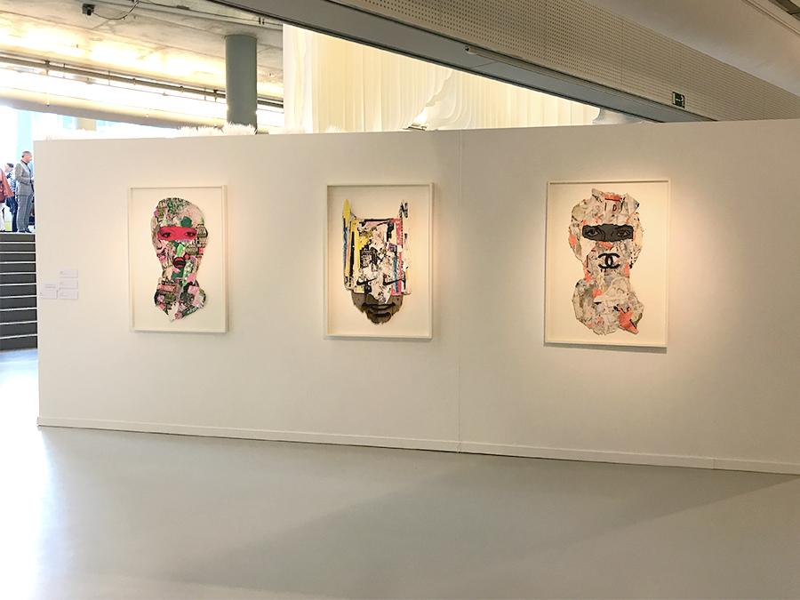 skimask at the coda paper art 2017 biennial