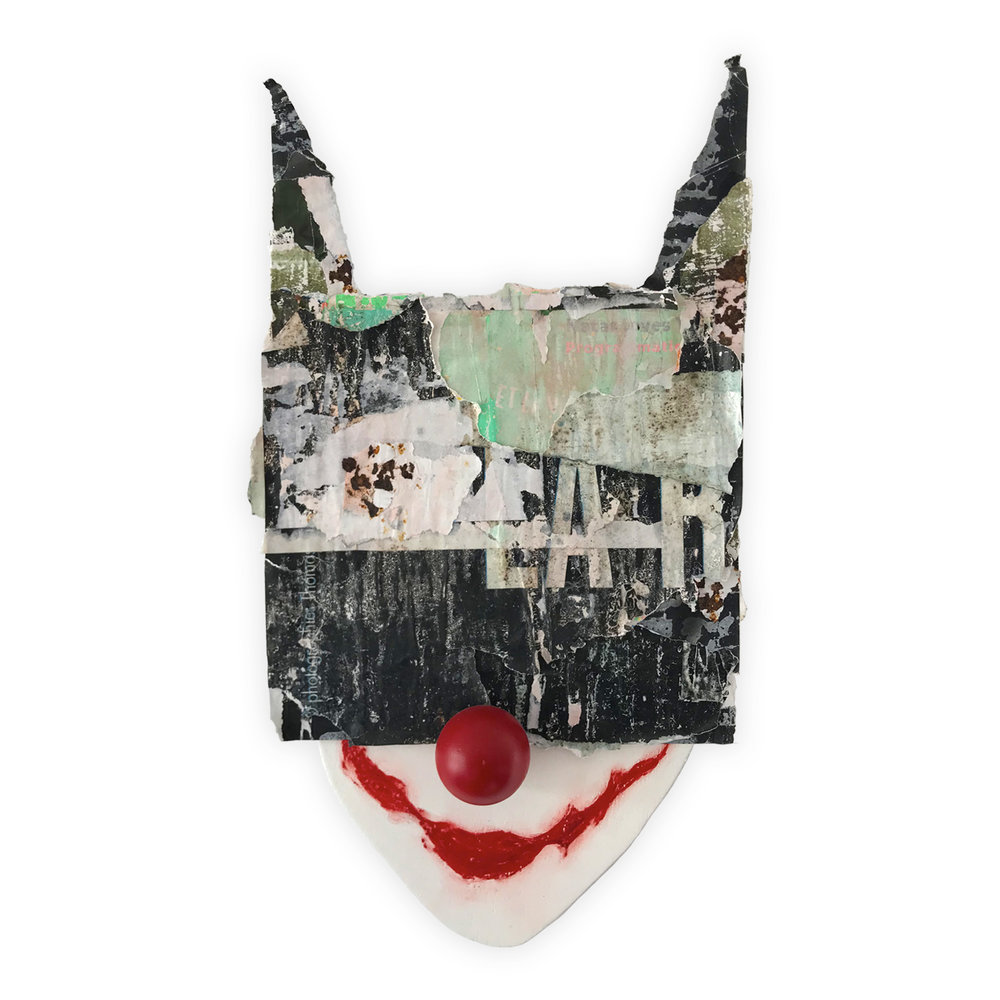Batman mask made from paper sourced at this location