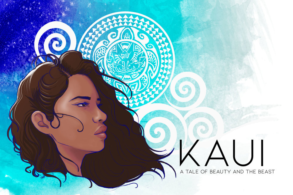 Kaui: A Tale of Beauty and the Beast - The fIrst of our Indigenous Fairy Tales line of Graphic Novels!