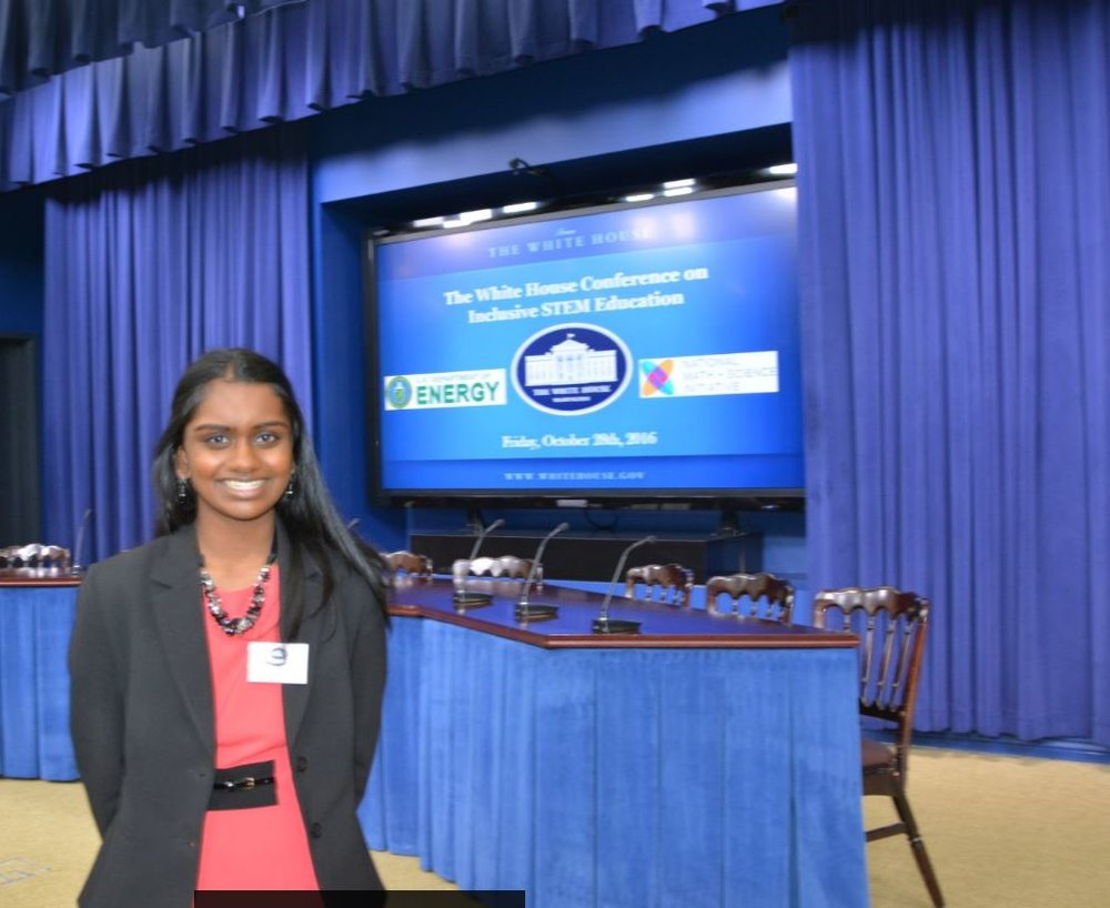 Invited to the White House STEM Inclusion Conference