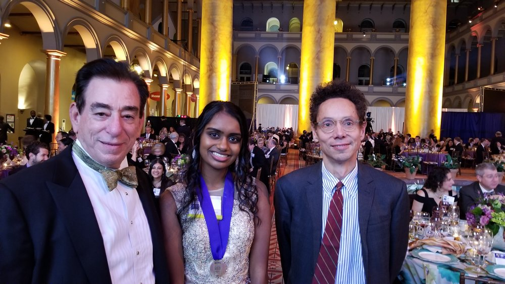 Regeneron Science Talent Search Finalist Gala with Dr. Len Schleifer and Malcom Gladwell