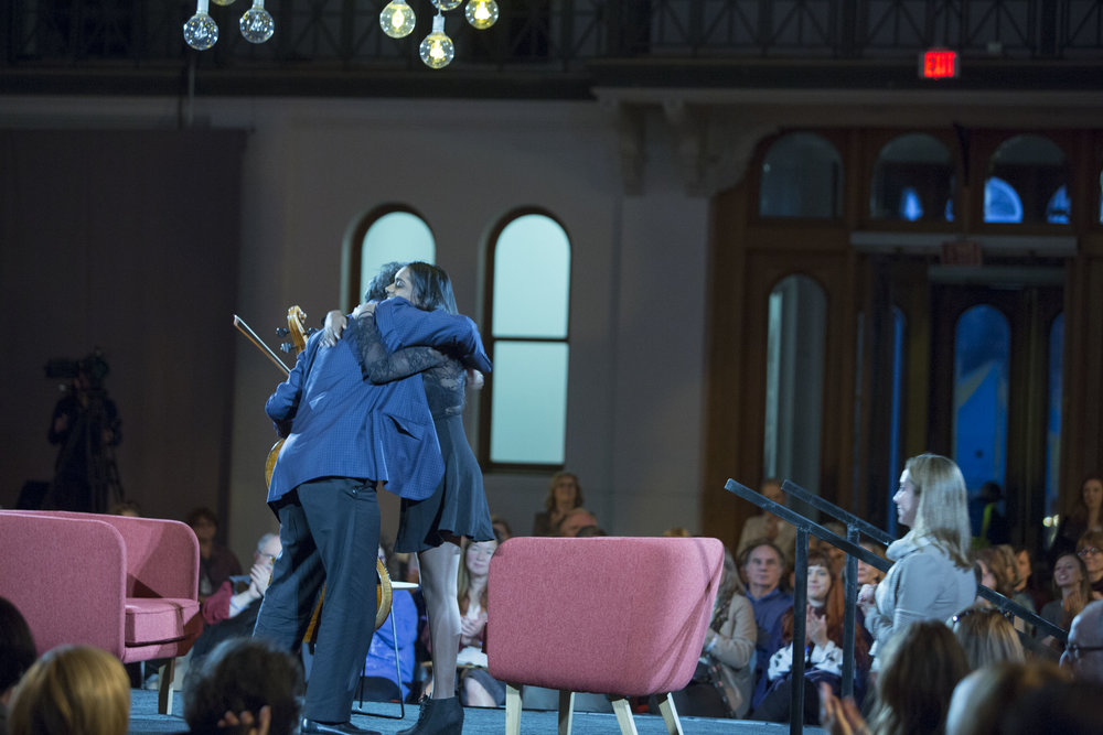 Smithsonian Institute's Long Conversation Event with Yo-yo Ma
