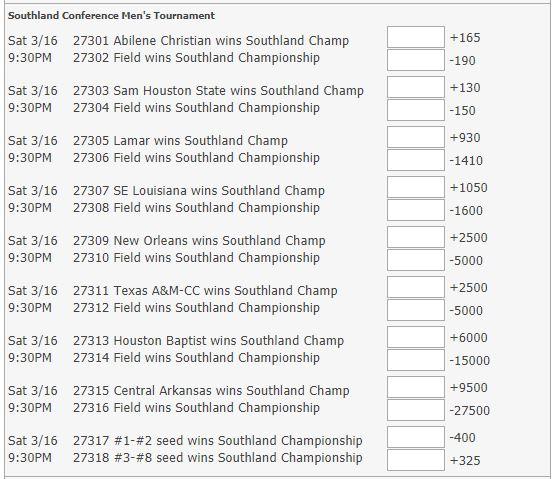 Southland Odds.JPG