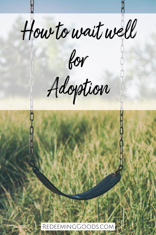 Waiting for adoption 1
