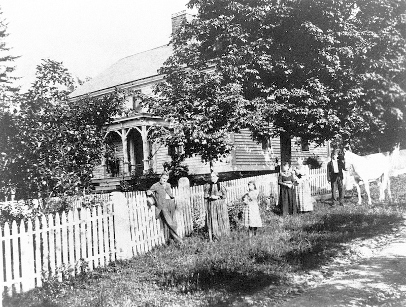 Sherman Farm, circa 1880 -