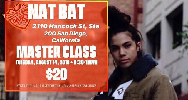 It's gonna be lit tonight in SAN DIEGO! Sold out class! Who has registered and is going to learn something new from the talented @nat_bat_ tonight at the Culture Shock Dance Center?! You will definitely not regret it!!! 😍💃🎀 #natbat #talenttuesday #btbfamily #sandiegodance #cultureshockdancecenter #soldoutdanceclass #inspiration @nelsonbtbmgr⠀ .⠀ .⠀ .⠀ Repost by @nat_bat_: SAN DIEGO!!!! Im coming thru this Tuesday to share some choreooo 😍 click the link in my bio to register now 💫 || Comment some song suggestions for me to choreograph to 🤔 || @cultureshockdancecenter || #LikeNat
