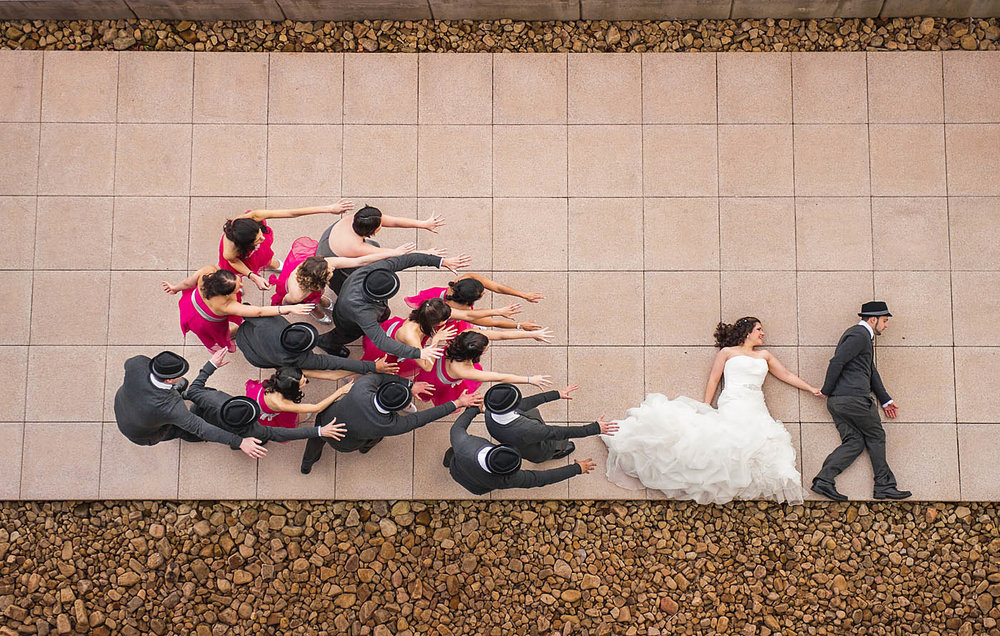 I hope this shot inspires you to take some big chances at your weddings!