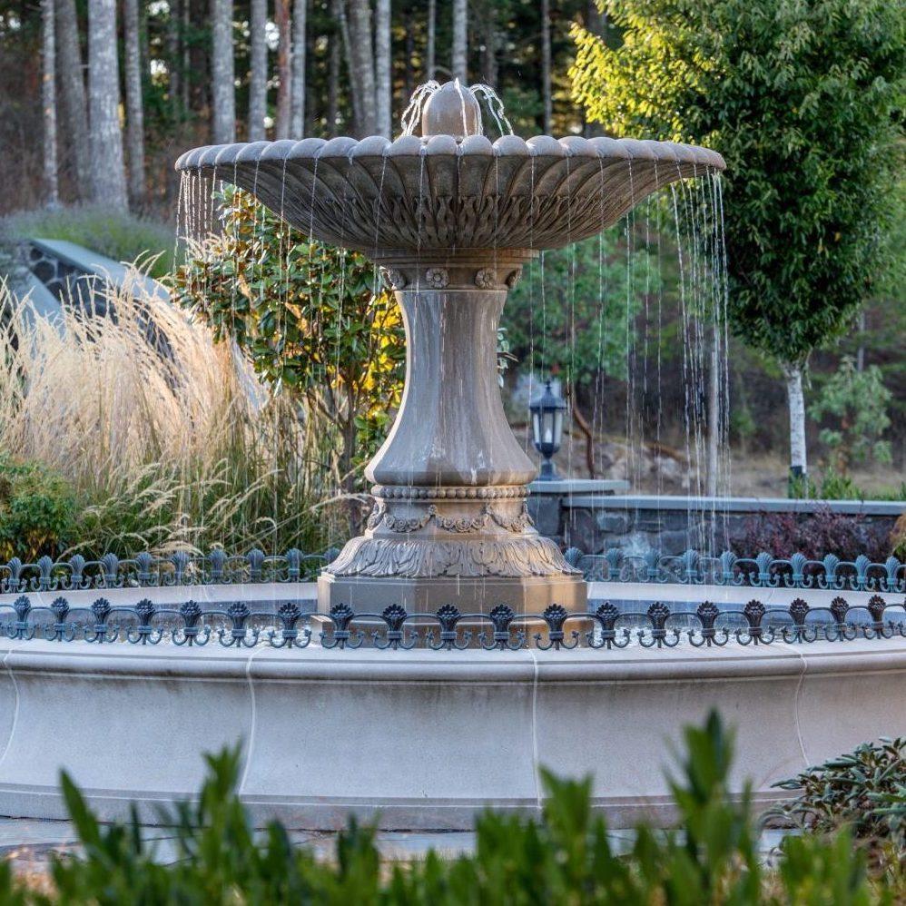 Eagle's Nest Estate Fountain -
