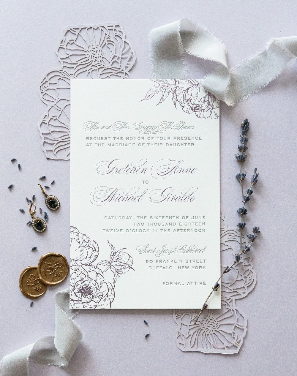 Artisan stationery - Our studio specializes in the art of bespoke stationery for weddings and events. We combine original artistry, calligraphy and graphic design to create work that is personalized and timeless.