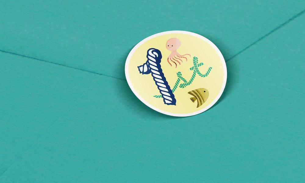Vidhi-Dattani-teal-letterpress-envelopes-sticker.png