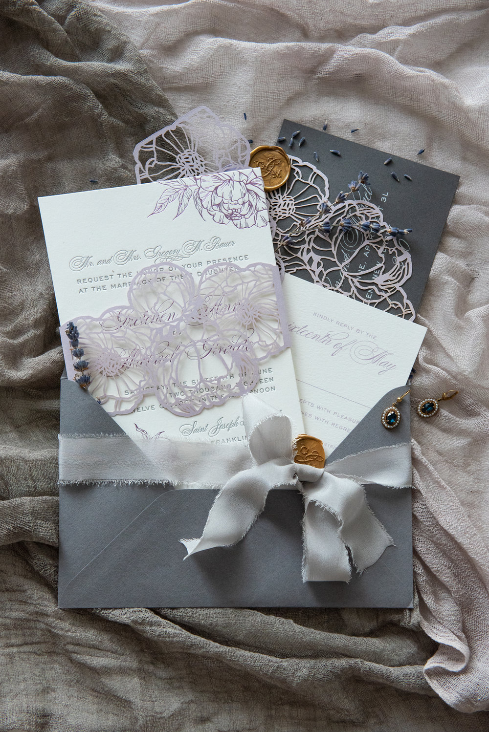 Vidhi-Dattani-gretchen-michael-invitation-suite-ribbon-wax-seal.jpg