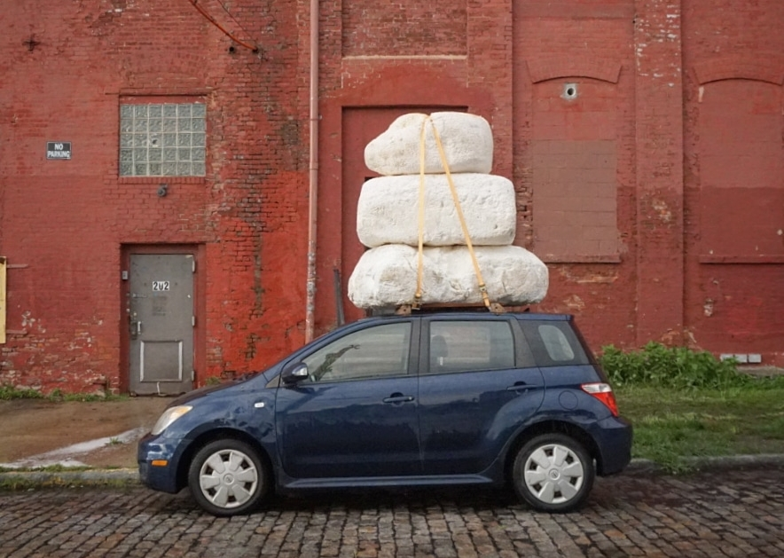 car cairn (trophying the problem)