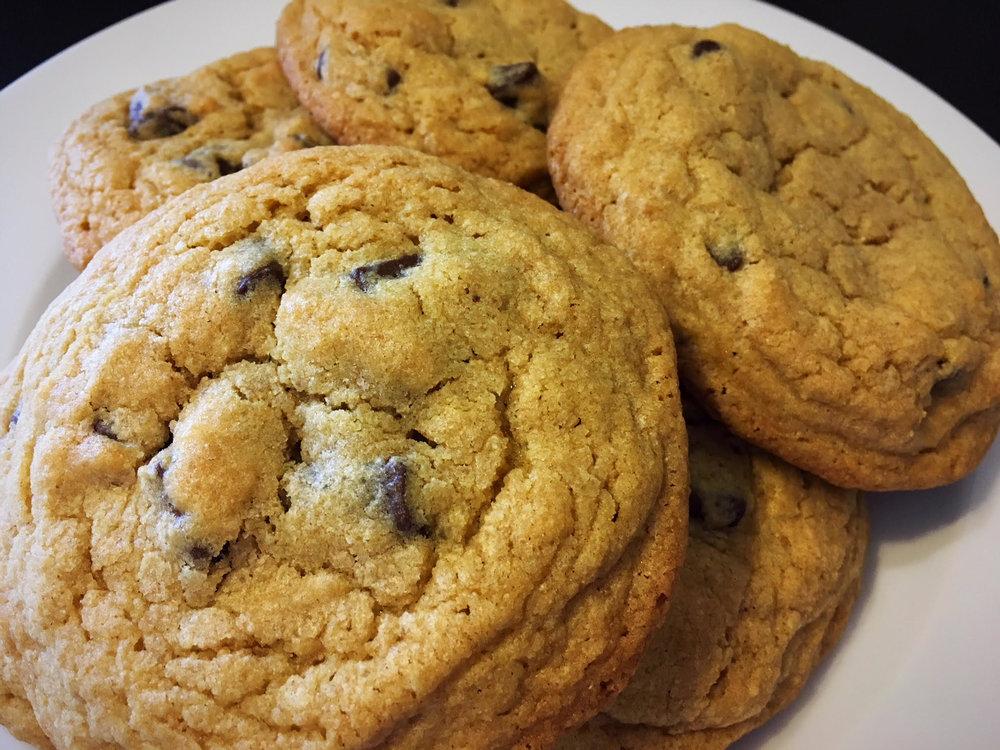 Organic Gluten-Free Chocolate Chip Cookies