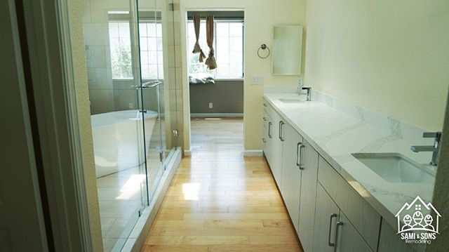 Another almost finish visioned bathroom by a happy customer.