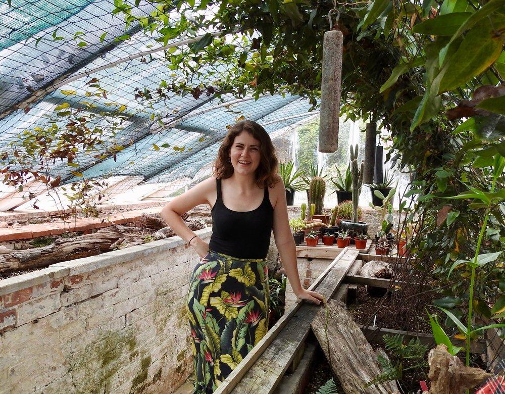 Having a blast in Agatha Christie's greenhouse, Devon