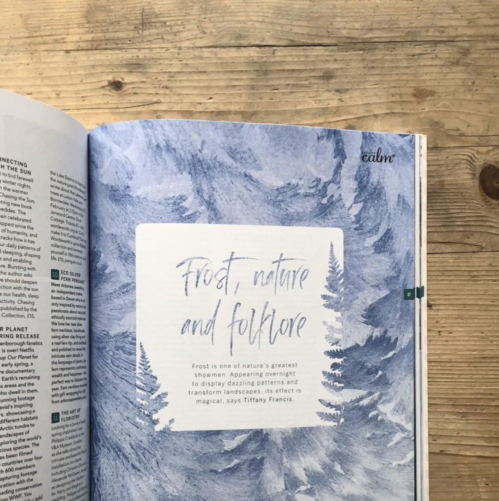 A recent feature for  Project Calm  magazine - part of my goal to write for more publications!