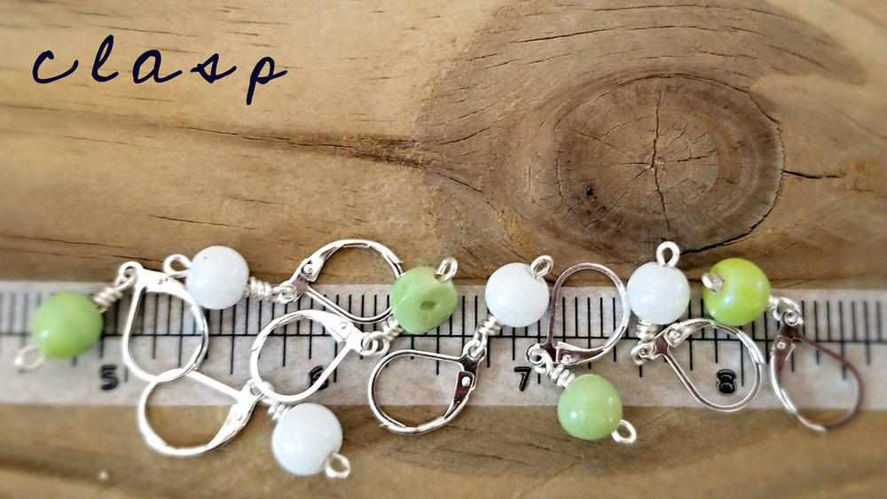 clasp style stitch markers