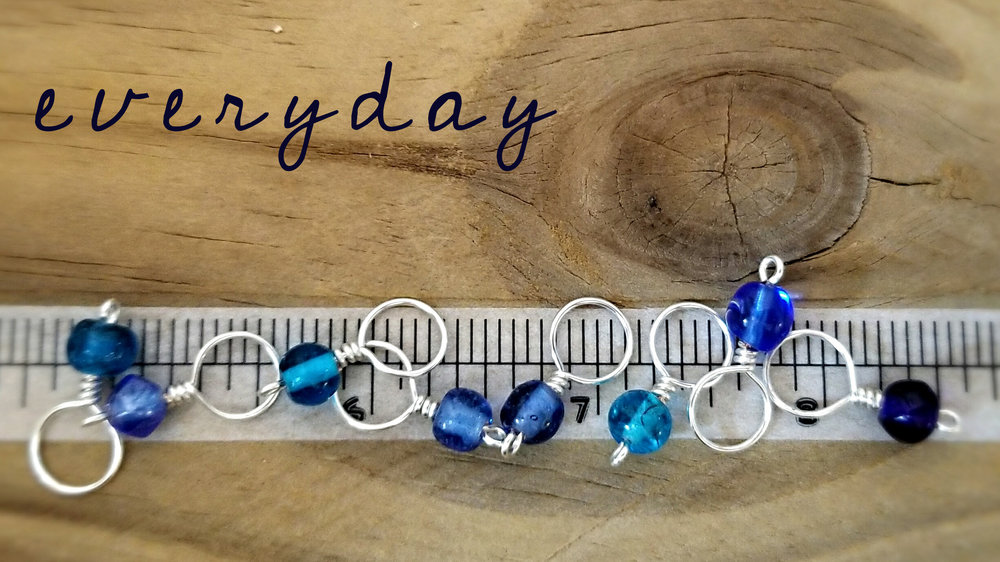 everyday size stitch markers