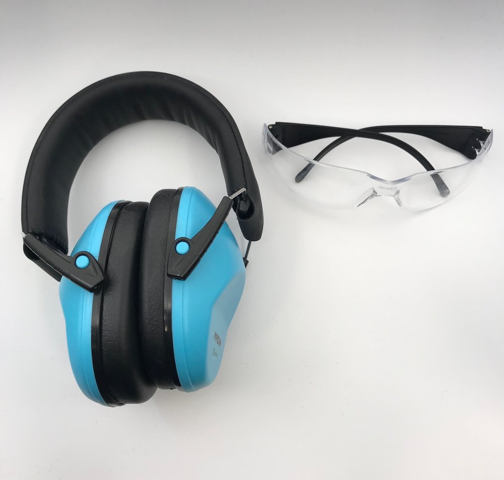 ear and eye protection