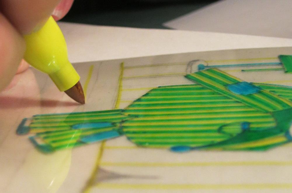 ILUSPRESSilustración + impresión con fotopolímeros, con Pupé. -