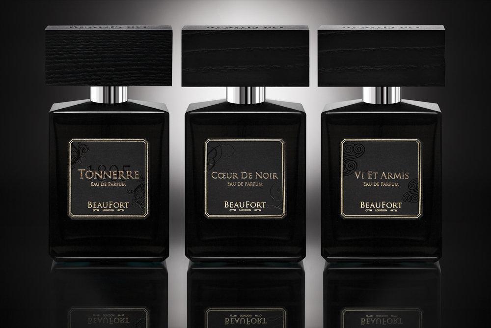PRINT_ONLY_BeauFort_London_3 BLACK BOTTLES_Eau_de_Parfum_by_Andrew_Ogilvy_Photography_4 LOW RES.jpg
