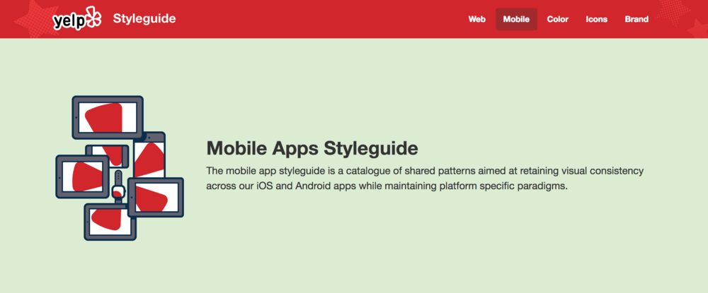 Yelp's Style Guide
