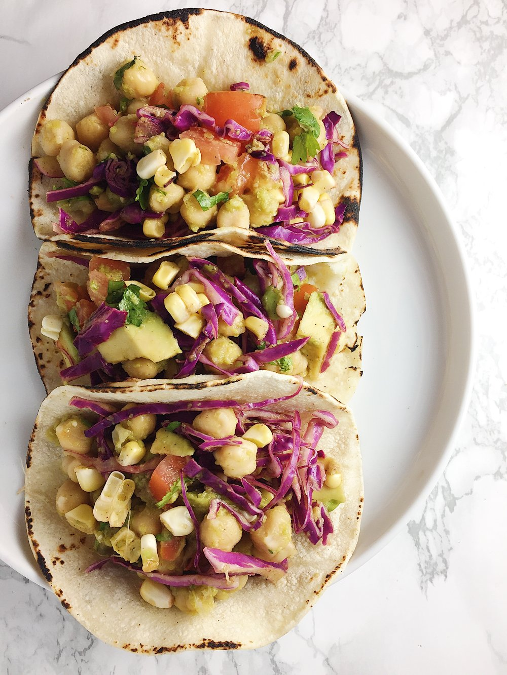 Chickpea tacos for me