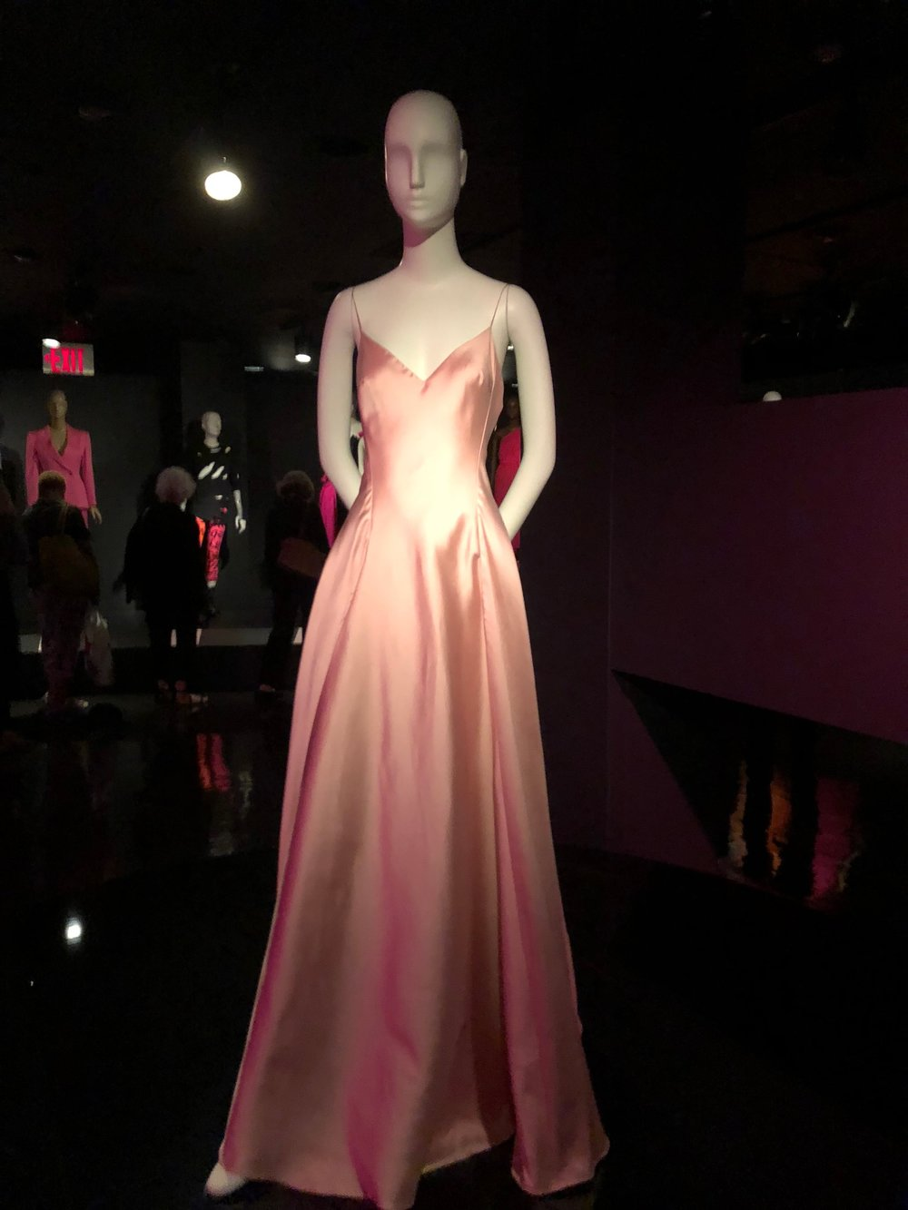 Gwyneth Paltrow's pink Ralph Lauren gown