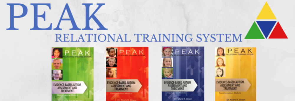 PEAK Language Training Curriculum - PEAK teaches skills for generalization and to increase and promote future learning in a specific way. It incorporates many early-learner skills repertoires as well as social skills, readiness, and many more.