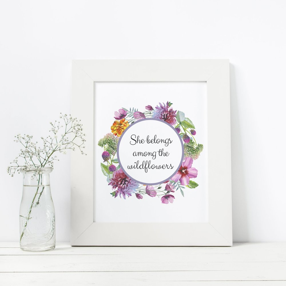 She belongs among the wildflowers art printable.jpg