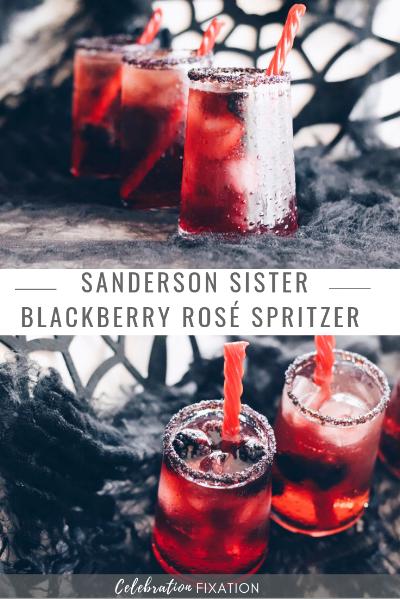 Sanderson Sister Blackberry Rosé Halloween cocktail Spritzer.png