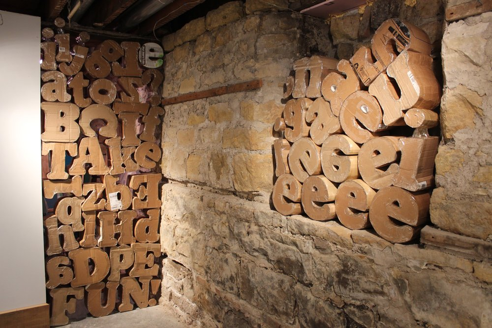 In Our Words.  RACA Gallery, rural Mankato.