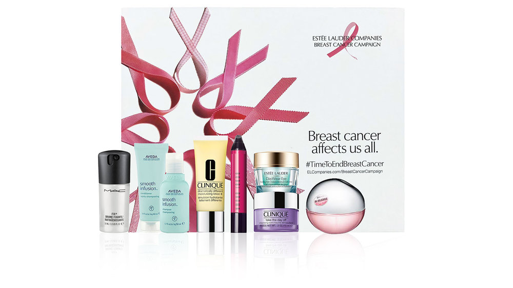 Estee Lauder Brands Breast Cancer Awareness Beauty Box $149 ($149 donated to NBCF)
