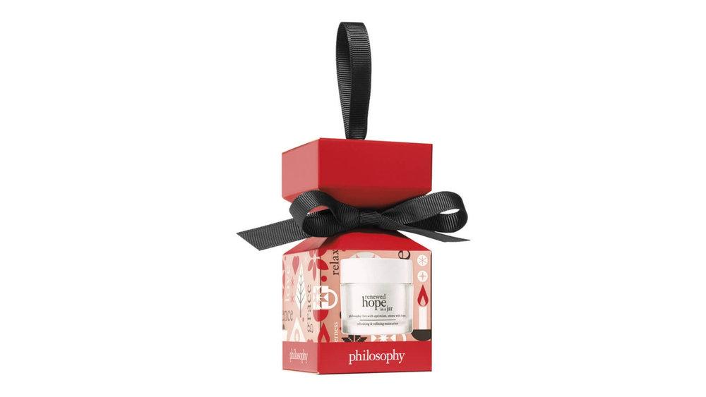 Philosophy Renewed Hope in a jar bauble $19