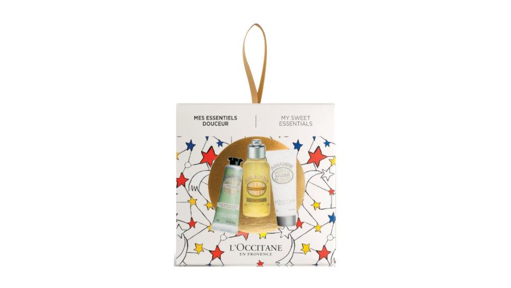 L'Occitane Almond Christmas Bauble $22