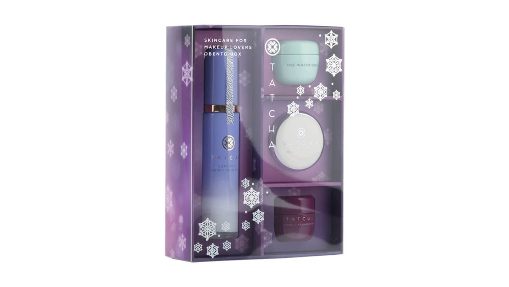 Tatcha Skincare for makeup lovers Obento box $93