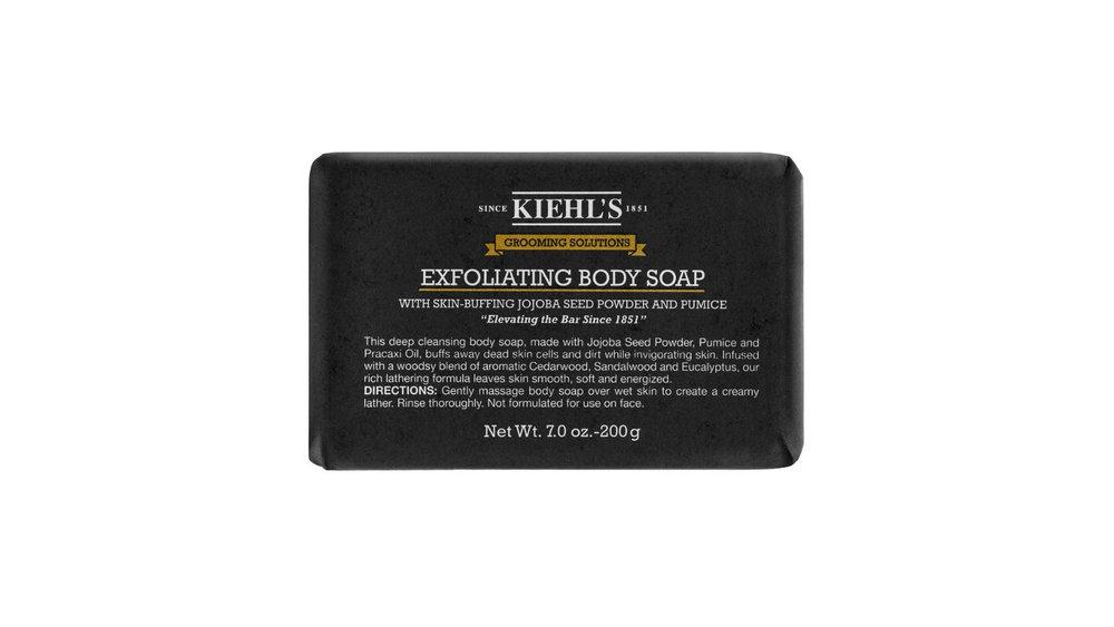 Kiehl's Exfoliating Body Soap $23