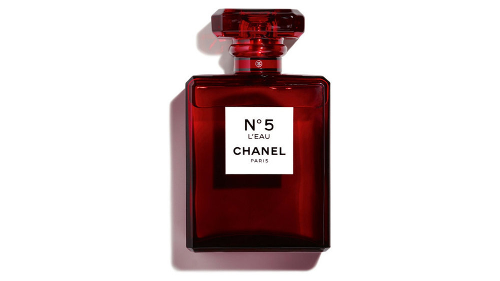 Chanel No. 5 l'Eau Dresses in Red 100ml $276