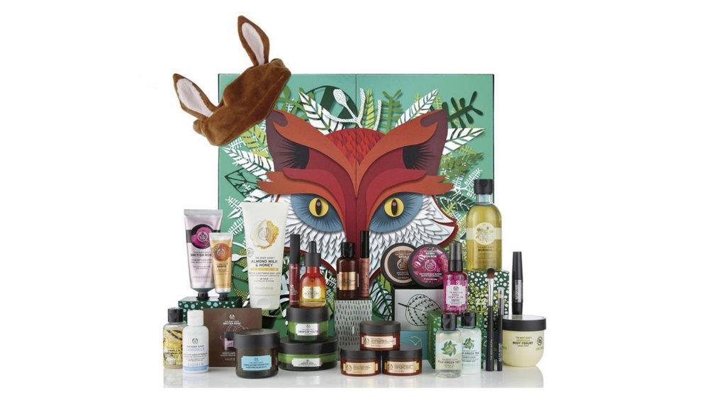 The Body Shop Advent Calendar $250