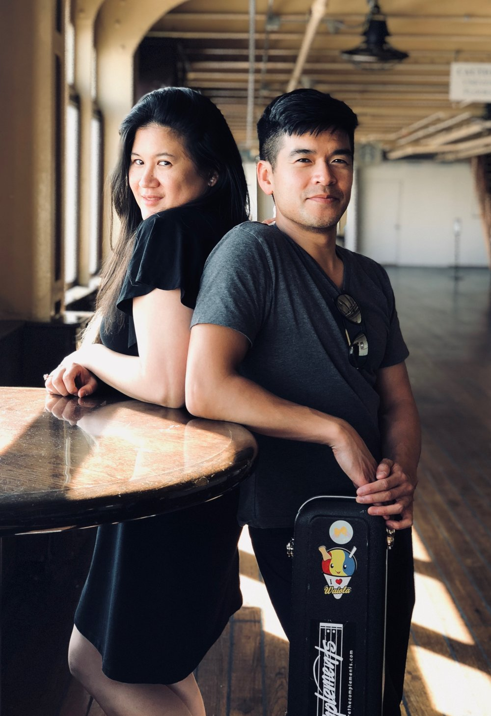The Complements - Often recognized for their soulful vocal harmonies and charming performances, The Complements are an acoustic duo that has drawn comparisons to The Civil Wars, Alex & Sierra, and Us The Duo. Comprised of best friends Greg and Alicia, their music has been described as