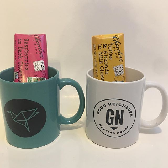 It's @goodneighborsmeetinghouse  anniversary week! To celebrate we are sending out these mugs, with some Colorado made chocolate from @willamettemarketdeli !  Click the link in our profile & fill in your details to have one of these sent to you!! • • • • • • • • #coloradosprings #coloradospringsliving #coloradoliving #coloradospringslife #coloradosprings #coloradospringsco #csco  #coloradolifestyle #downtowncoloradosprings #my_cosprings #celebratecoloradosprings #coloradospringslocal #coloradospringscoffee