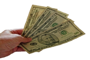 Image of money to illustrate Turf Preserve pricing strategy.